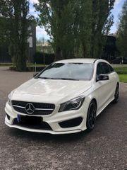 Mercedes CLA 220 CDI Shooting