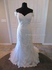 Justin Alexander Sweetheart Brautkleid Hochzeitskleid