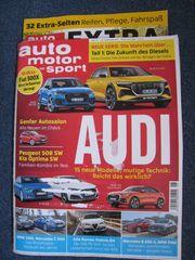 NEU - Zeitschrift auto motor und