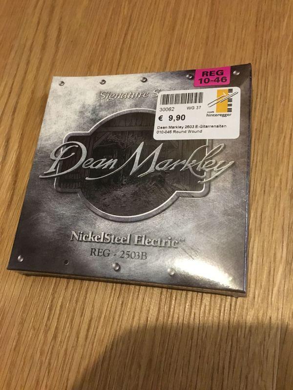 Dean Markley Gitarren Saiten REG