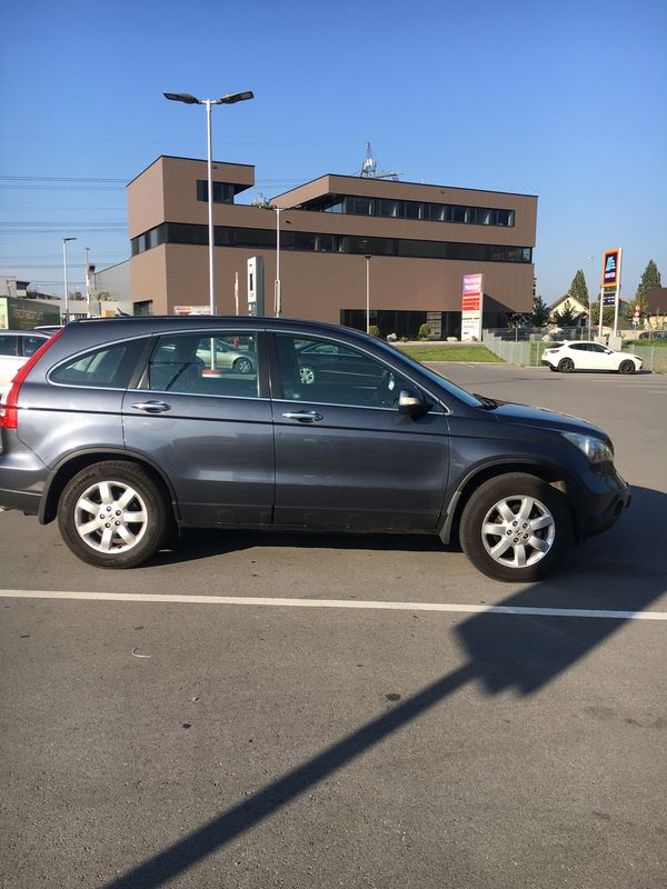 Honda CRV Allrad DPF