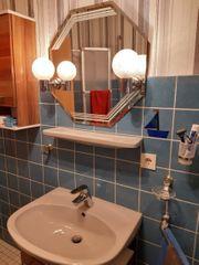 Waschbecken Armatur Ablage Leuchtspiegel