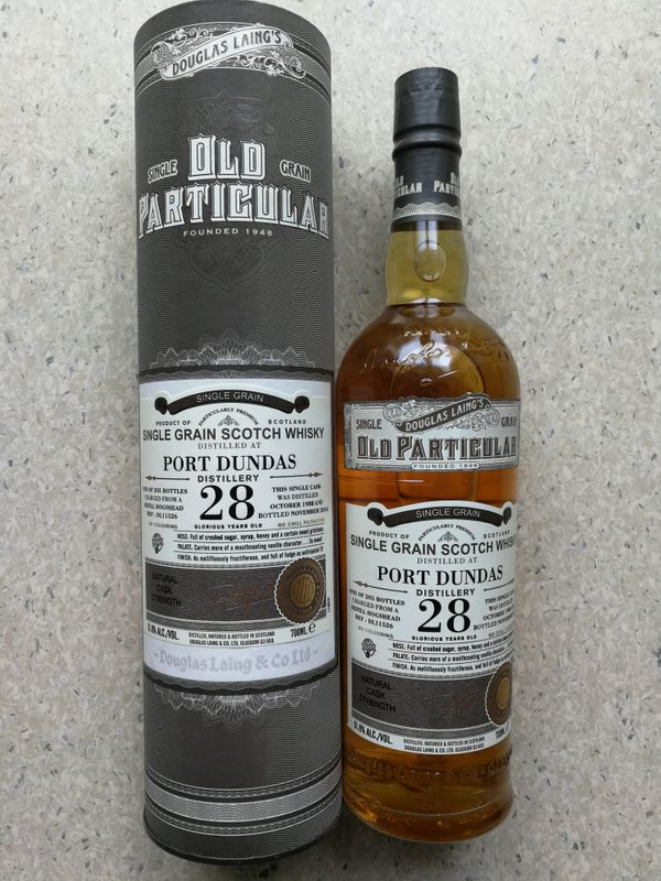 Whisky PORT DUNDAS 28Y