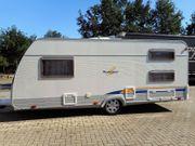 Wohnwagen Bürstner 480 TK Etagenbett