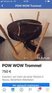 POW WOW Trommel