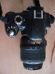 NIKON DX 60 Spiegelreflex-Kamera mit