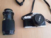 Minolta X500 mit Zoom und