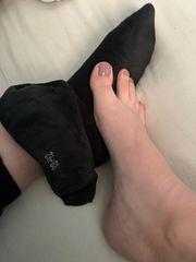 Socken und Fotos
