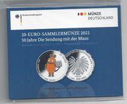 20 Euro Sammlermünze 2021 50