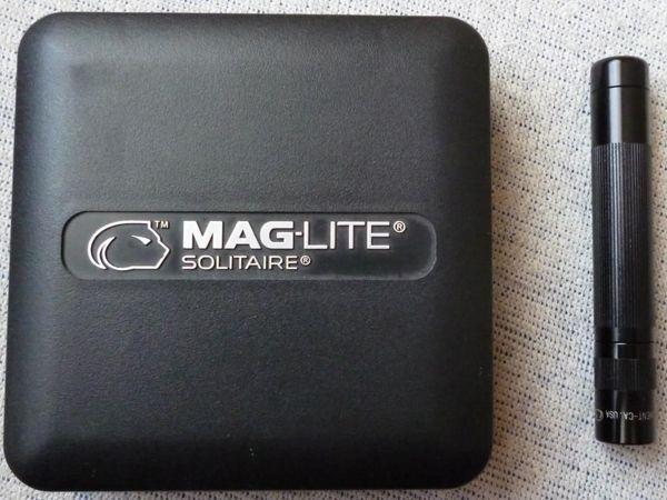 Maglite Solitaire Taschenlampe schwarz --
