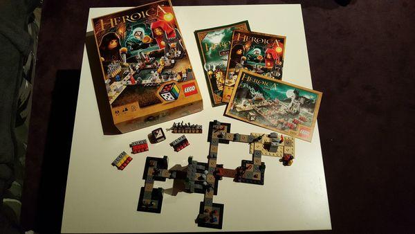 LEGO- Spiel Heroica Nathuz 3859