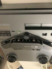 SCHWARZ AKAI GX-747DBX Tonbandgerät Sehr