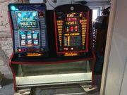 Geldspielautomaten mit Doppelständer oder Einzeln