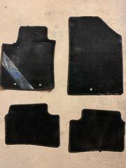 Fußmatten für Hyundai i10 schwarz