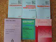 Kaufmännische Lehrbücher - Ind Fachwirt - zu