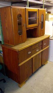 Alter Küchenschrank Tisch