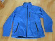 Neuwertige blaue Softshelljacke von Lizzard