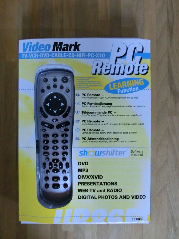 Multifunktions-Fernbedienung PC incl. Maus, X10, TV, VCR, DVD, KABEL, CD, HIFI; deutsche Anleitung - München - Verkaufe eine Multifunktions-Fernbedienung für PC incl. Maussteuerung, X10-Haustechnik und natürlich auch für TV, VCR, DVD, KABEL, CD, HIFI u.s.w. Die FB kann mit vorprogrammierten Codes verwenden werden oder die Codes von einer vorhandenden - München