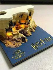 3D Harry Potter Notizblock