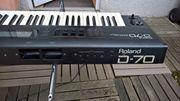 Vintage Roland D 70 Kultsynthesizer