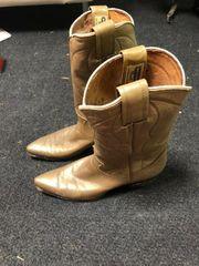 Echte Cowboy Stiefel aus den