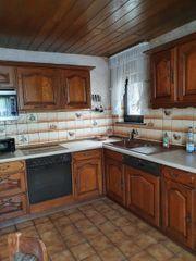Küche Küchenzeile Holzküche
