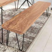 Myhomelando Esszimmer Sitzbank BAGLI Massiv-Holz