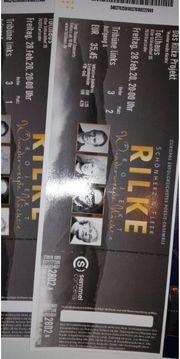 Zwei Karten Rilke Projekt 28