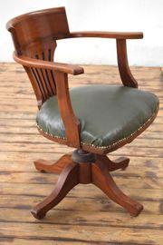 antiker Armlehnenstuhl aus Calcutta Indien