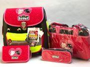 Scout Schulranzen 4Set Sporttasche Mäppchen