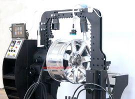 KFZ-Werkzeug, Werkstattausrüstung - 4 Kolben Laser Felgen Felgenrichtmaschine