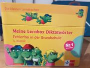 Meine Lernbox Diktatwörter - 4 Klasse