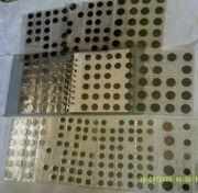 Sammelalbum mit 174 Münzen aus