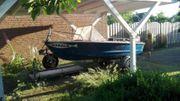 GFK Angelboot Yamaha 30ps Außenborder