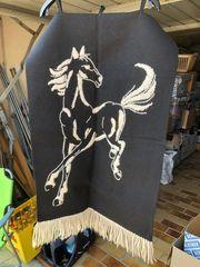 Wandbehang mit Pferd