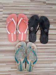 3 paar Flip Flops Gr