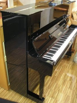 Bild 4 - Klavier Yamaha U1 Schwarz poliert - Eschach