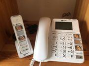 Senioren Telefon mit Mobilteil und