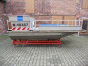 ALU-Doppelrumpfboot Arbeitsboot Motorboot Hausboot Slippgestell