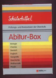 Schülerhilfe Abitur-Box 8 Bände im Schuber