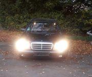 Meinen zuverlässigen Mercedes Benz E-Klasse