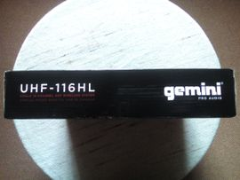 Studio, Recording (Equipment) - Gemini UHF-System mit Single Headset