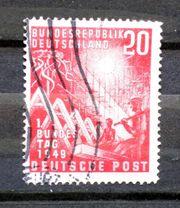 Briefmarken BRD 1949 7 9