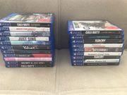 Playstation 4 spielesammlung PS4 Games