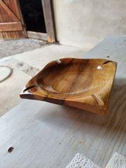 Aschenbecher aus Holz Walnussholz