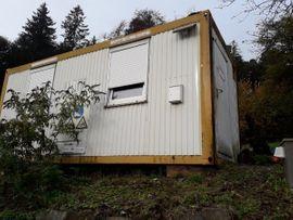 Schrebergärten, Wochenendhäuser - 20 Bürocontainer Bauhütte 6m 6