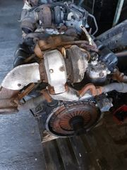 Mercedes LKW Motoren defekt Teileträger