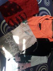 5 T-shirts in Größe S