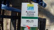 Jalousie ALU 180cm x 175cm