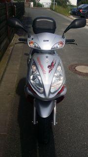 Motorroller Sym Red Devil